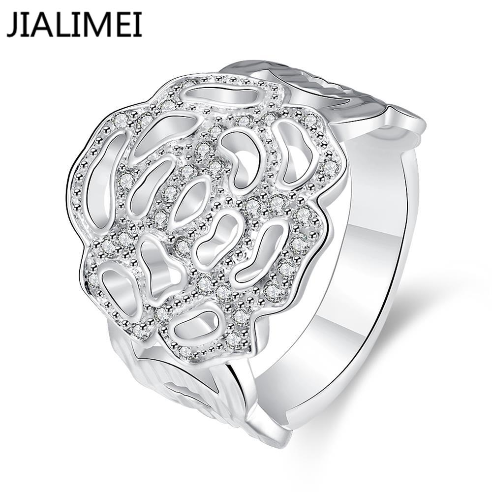 wholesale 925 silver rings for wedding jewelry cubic
