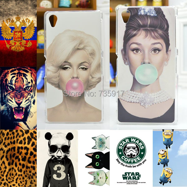 HOT! 20 Patterns cover case FOR Sony Xperia Z1, FOR Sony Xperia Z1 L39h Painting Case in stock(China (Mainland))