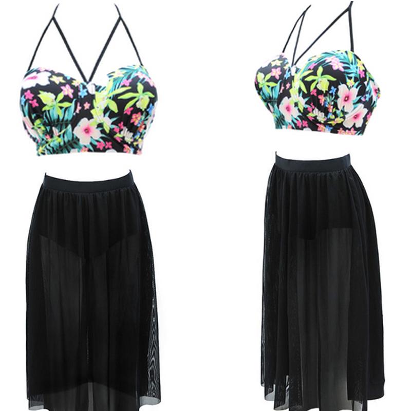 Bikinis With Skirt 107