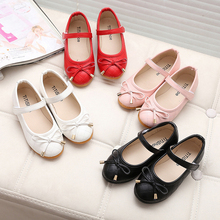 party girls shoes new fashion 2016 baby children kids girl princess leather red shoe spring autumn size 21~36 over 2 years old(China (Mainland))