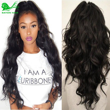 Eayon Hair Products 100% Brazilian Virgin Human Hair weaves Body Wave 3pcs Lot black Free Shipping