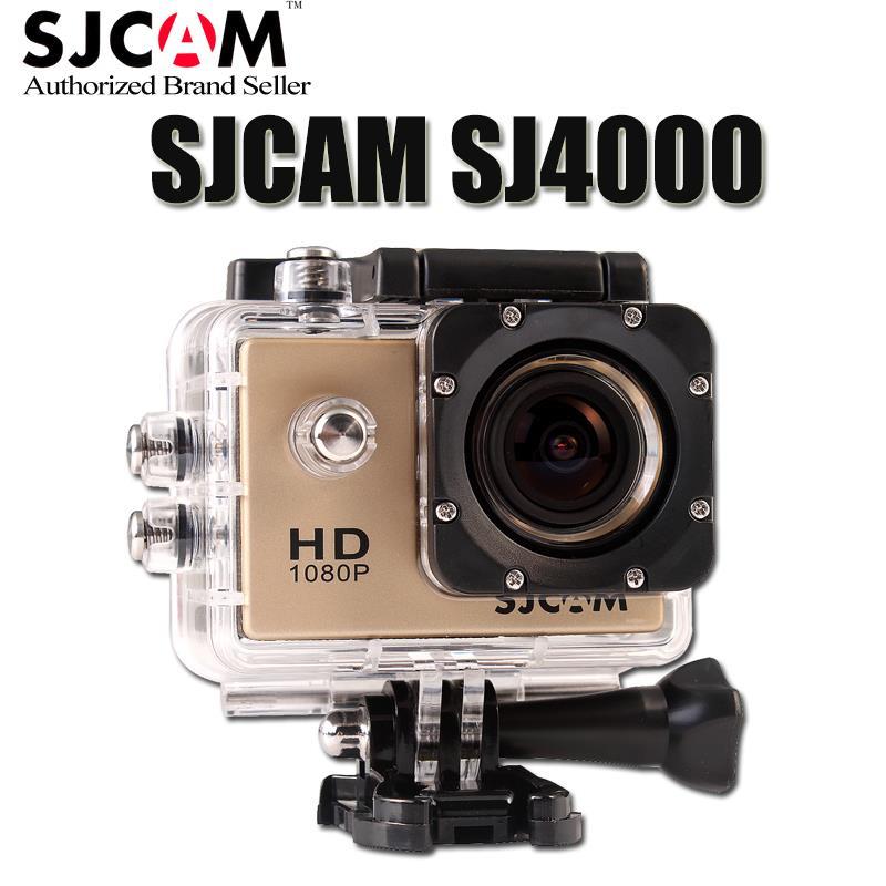 Action Camera Full HD DVR Sport DV Original SJ4000 1080P Helmet Waterproof Camera 1.5inch  Mini DV 170 Wide Angle