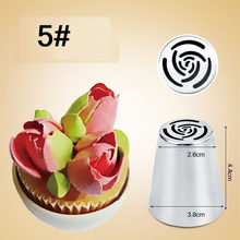 1PC DIY Russian Pastry Cake Icing Piping Decorating Nozzle Tips Baking Pastry Tools Cake Baking Tools kitchen accssory(China)