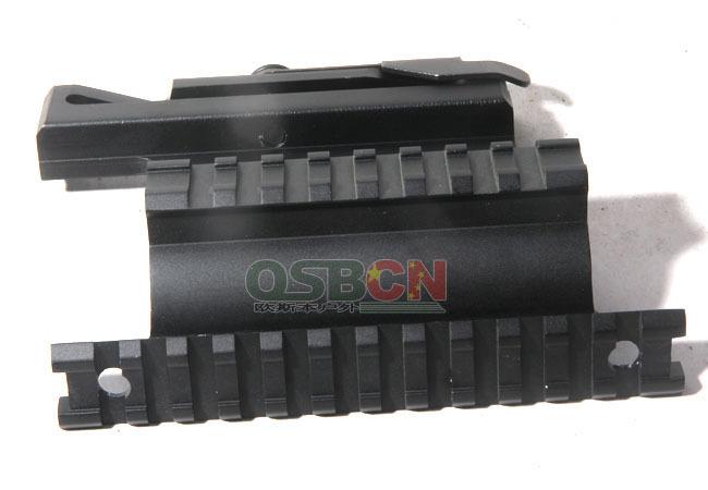 UTG AK 74 QD Quick style Detachable Double Rail ak Side Mount 20mm weaver MNT 978