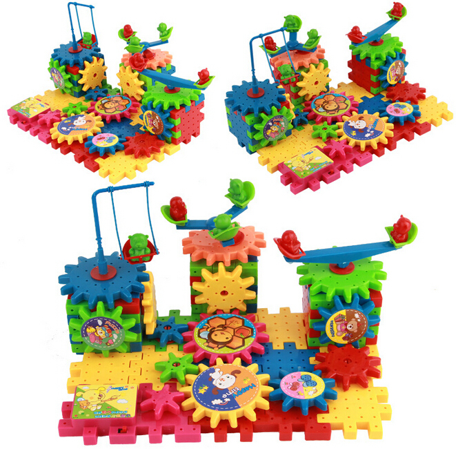 Electric Blocks 81 Variety Educational Toys Multiple Spellings Baby Toy Plastic Model Kits(China (Mainland))