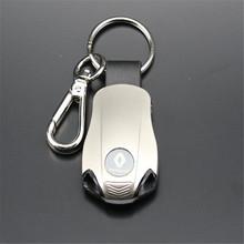 LED metal key chain/Renault auto supplies renault emblem keychain , accessories , Reynolds car logo keycha(China (Mainland))