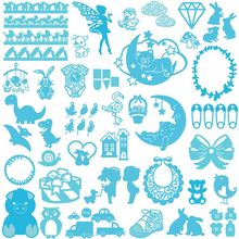 Buy 1Pc New Metal Cutting Dies Stencil DIY Scrapbooking Embossing Album Paper Card Craft 20 Styles for $1.12 in AliExpress store