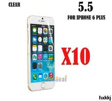 10pcs Clear Screen Protector Cover, Front Screen Protector Film for Iphone 6 Plus 5.5″ Without Retail Package
