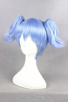 [Ansatsu Kyoushitsu]  Shiota Nagisa 32cm Short Light Blue Synthetic Costume Wig