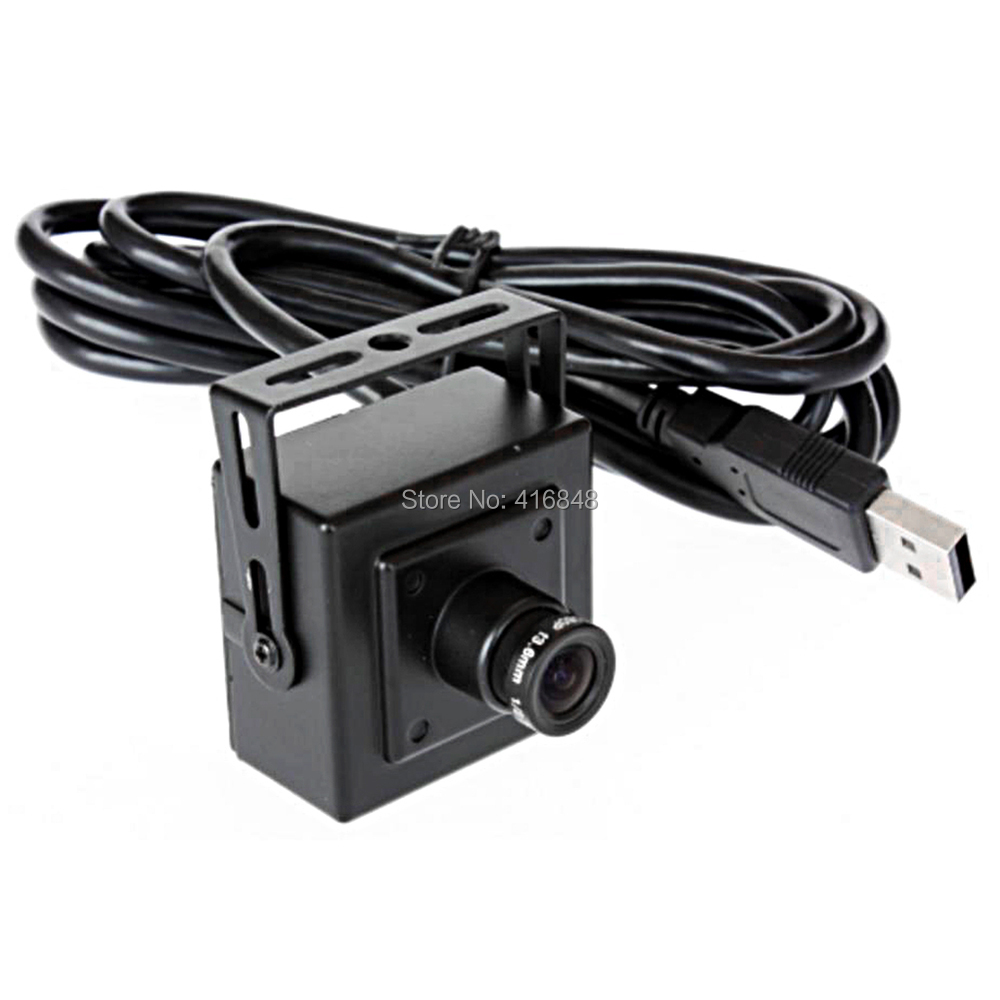 8mm lens 1080P CCTV Surveillance camera HD 200W pixel tablet notebook computer using Black and white USB camera module(China (Mainland))