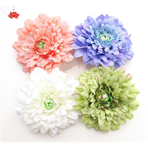 Daisy Flower for Women Headdress Hairpin Straw Hat Beach Flip Flop Decor Diy Artificial Flower Home Decoration Free Ship(China (Mainland))