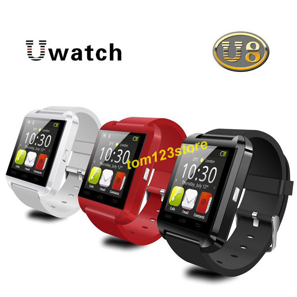 Bluetooth Smart wristwatch Smart Watch for iPhone 6/puls/5S Samsung S4/Note 3 HTC Android Phone Smartphones Android Wear(China (Mainland))