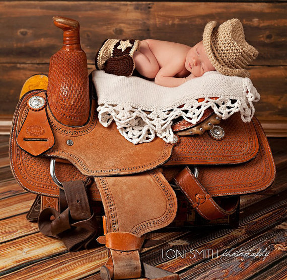 2015 Real Baby Hat Fashion Hat Newborn Boys Fringe Crochet Knit Costume Cool Boy Cowboy Style Photo Photography Prop Outfits(China (Mainland))