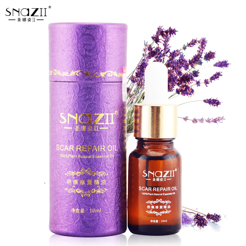 Scar Repair Essence Oil 100% French Lavender extracts Scar Remove acne India,Scar repair,Help sleep ,skin care Massage Oil(China (Mainland))