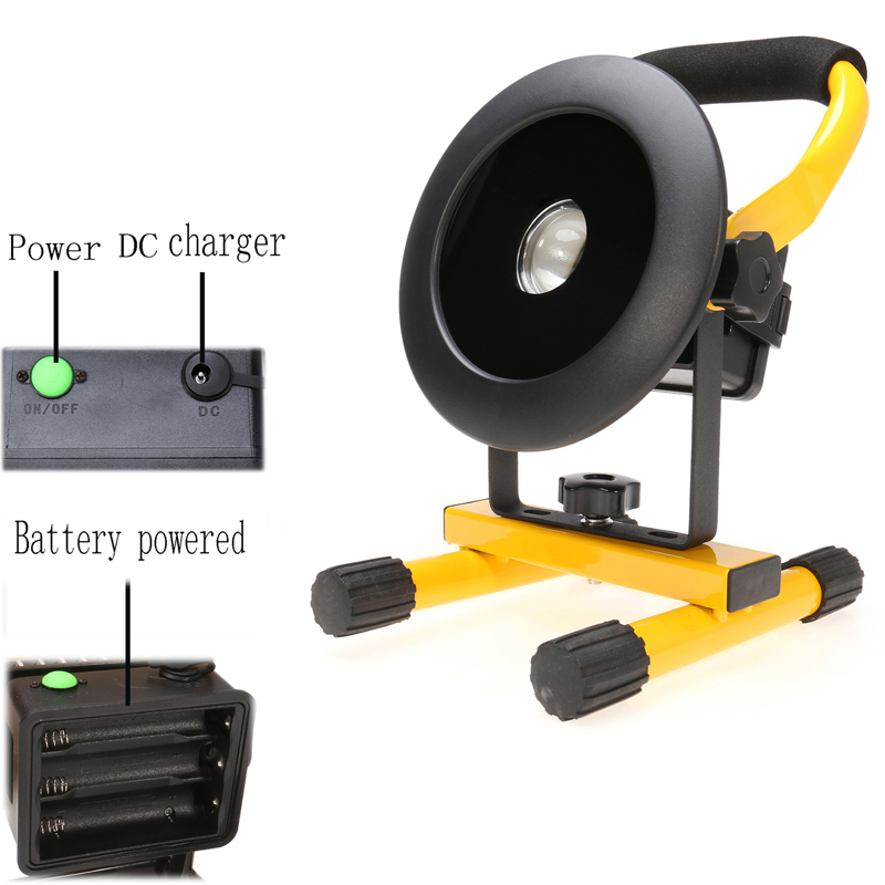 IP65 24 LED 30W 2400LM Floodlight,Handle Rechargeable Work Emergency Flood Light for Outdoor Indoor US/EU Plug<br><br>Aliexpress
