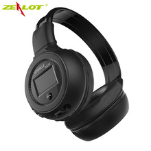 Zealot B570 Foldable Wireless Stereo Bluetooth Headphone Headset Handfree FM/TF Card Multifunction with Mic For phone MP3