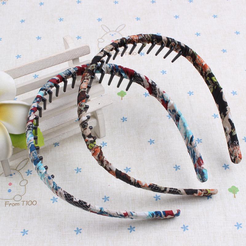 1pcs Original Fashion DIY Hair headwear accessory Hair Hoop plastic headband with teeth for women D503(China (Mainland))