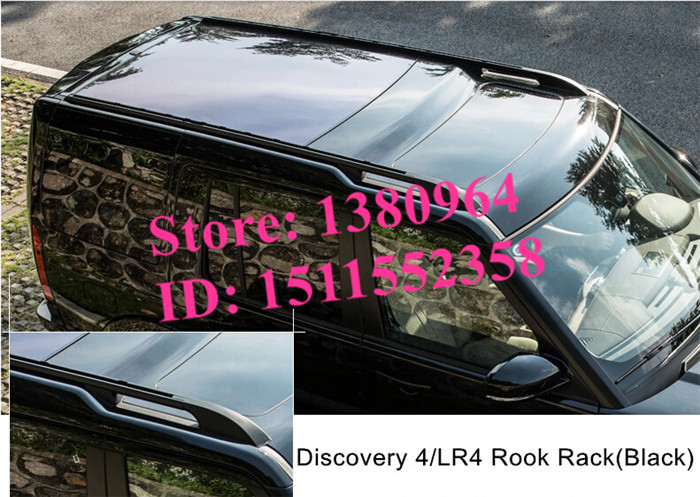 Aluminium roof baggage luggage rack bar rail bar Suitable for Land Rover Discovery 3 4 Discovery3 LR3 Discovery4 LR4 2004-2012(China (Mainland))