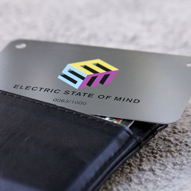 Personalized cutout stainless steel business metal card<br>