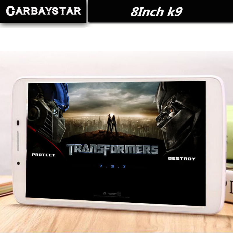 CARBAYSTAR Octa Core 8 inch Double SIM card K9 Tablet Pc 4G LTE phone mobile metal android tablet pc RAM 4GB ROM 64GB 8 MP IPS(China (Mainland))