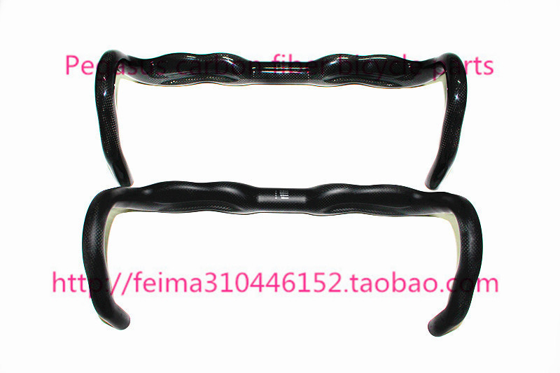HOT Full carbon handlebar fiber fission highway bend/road cycling the / 3 k carbon wen paragraph 31.8 -400/420/440 gloss/matte<br><br>Aliexpress