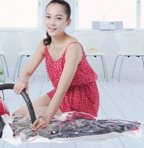 2pieces/a lot Vacuum Compression storage bag home storage organization(China (Mainland))