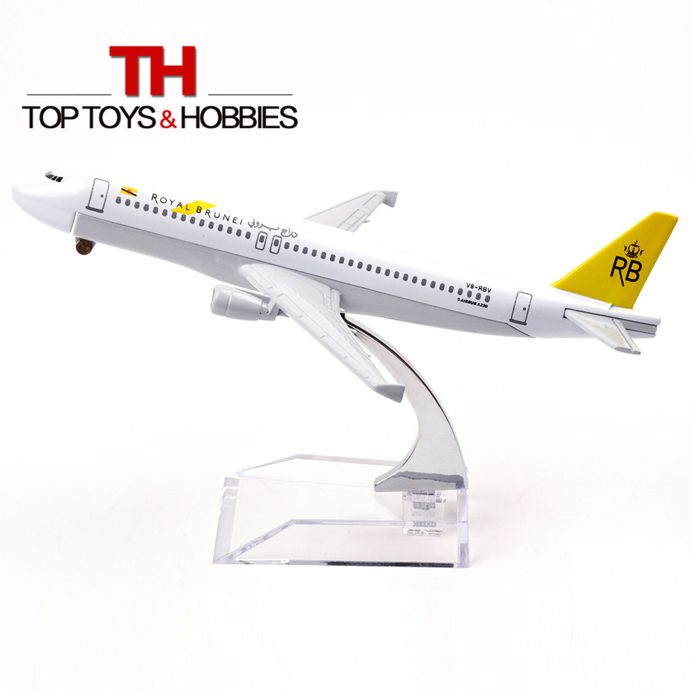 16cm Alloy Metal Passenger Plane Model Royal Brunei A320 Collections Kids Gift Aircraft Diecast Juguete Cellection(China (Mainland))