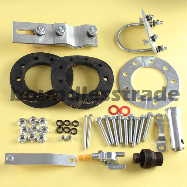 OPHIR 2 Stroke Cycle 48cc 49cc 50cc Engine Motor Kits for Motorized Bicycle Silver Gas Engine