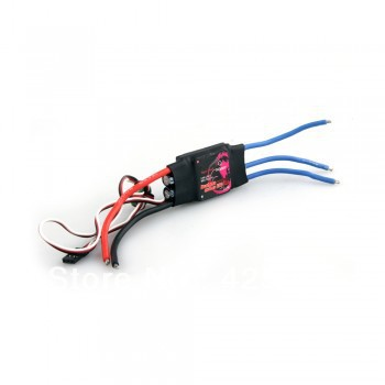 Free Shipping 2Pcs Mystery Fire Dragon 40A Brushless Motor ESC RC Speed Controller Small Edition(China (Mainland))