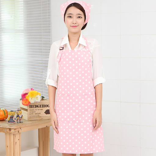 Double waterproof apron manufacturers of Korean foreign trade custom gift advertisement apron apron Princess(China (Mainland))