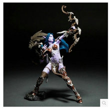 WOW dota 2 Night Elf Archer Anime models toys hobbies action toy figures anime games birthday gifts