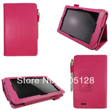 """For Asus Memo Pad ME172V 7"""" PU Leather Stand Holder Cover Case, Mix Colors(Hong Kong)"""