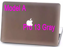 For Macbook Pro 13 Inches A1278 Matte Case Logo Show and Hide 2 Models Hard Cover Frosted Polish Protective Scrub Shell(China (Mainland))