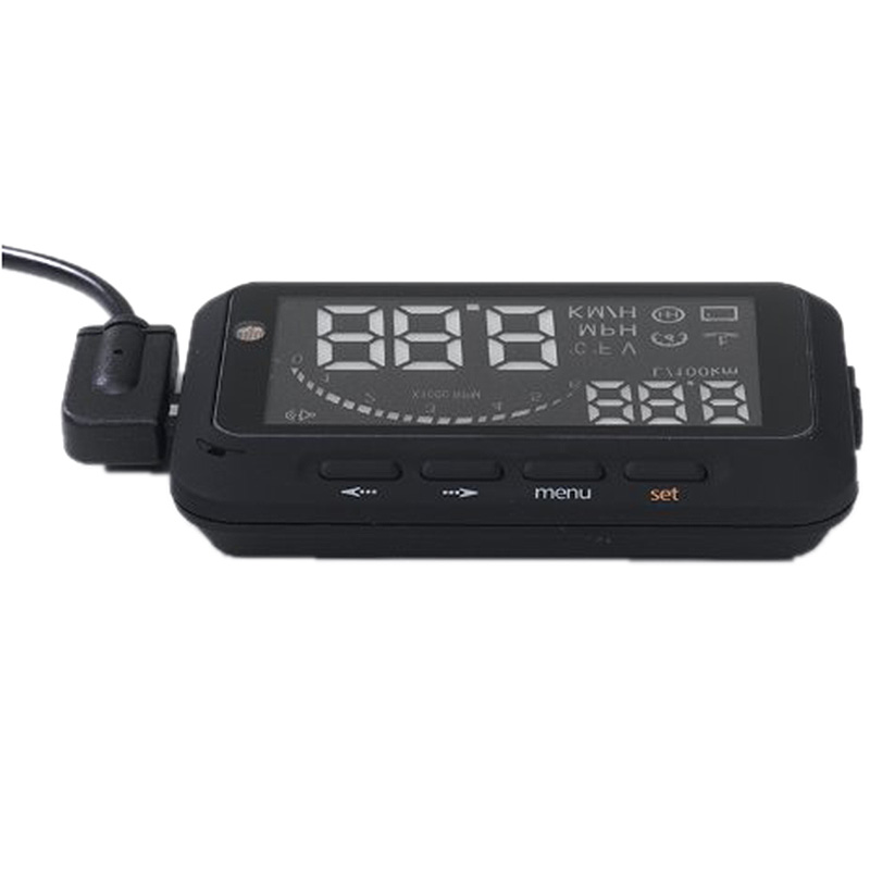 EDFY Universal Car HUD Vehicle-mounted Head Up Display System OBD Overspeed Warning