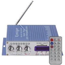 HY502 USB / MP3 / DVD / CD / FM / SD Sound Mode Digital Display Hi-Fi Car Stereo Power Amplifier with Remote Control(China (Mainland))