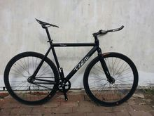 PCO fixed gear bike aluminium frame and cinelli handlebar fixie bicycle(China (Mainland))