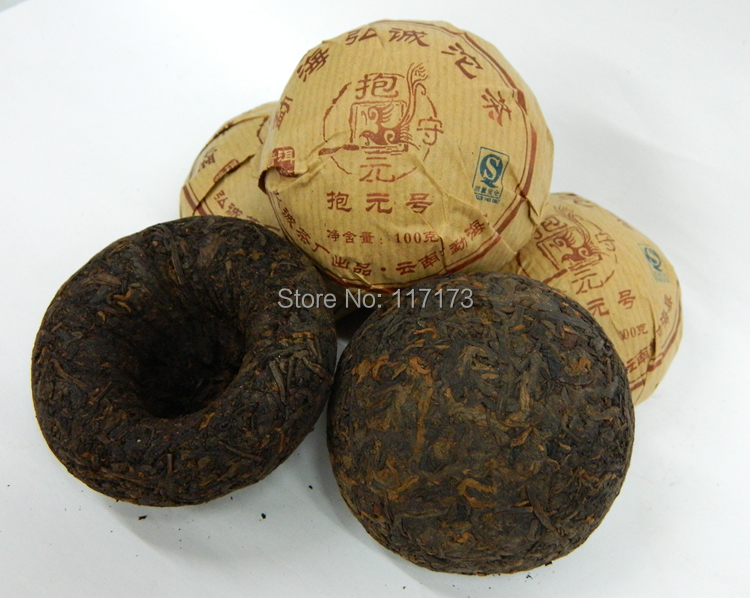 Вязаный чай Puer 100 pu erh Tuo [grandness] menghai v93 2007 701 yunnan menghai tea factory dayi taetea premium ripe puer pu er pu erh pu erh tuo cha tea 250g
