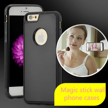 Anti-Gravity Selfie Case for iPhone 6/6s Plus (5.5-inch) for Samsung Galaxy s6 s7 cases magic stick wall case