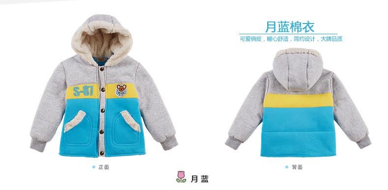 Скидки на Новорожденный ребенок зимняя куртка теплая куртка дети мальчик верхняя одежда контрастного цвета мальчика детские зимние толстые куртки пальто
