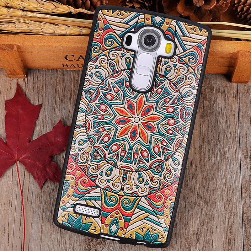 <font><b>Lgg4</b></font> TPU soft silicon retro mobile phone case g4 cover For LG G4 matte back cover