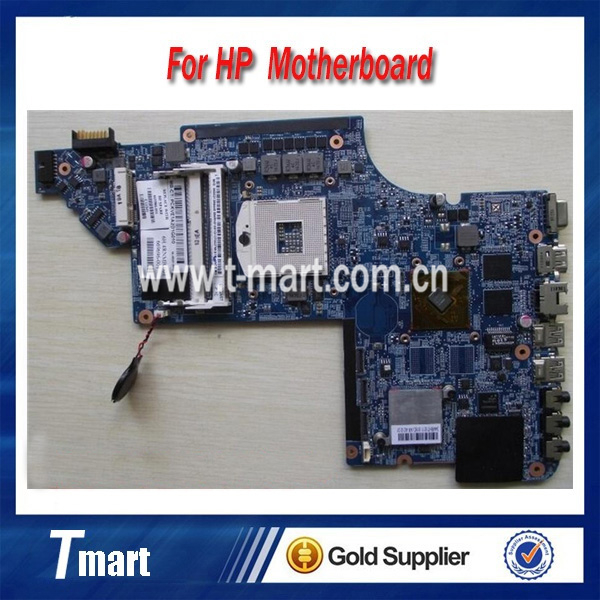 100% working Laptop Motherboard for hp 665986-001 DV7-6000 HM65 HD6490/1G System Board fully tested