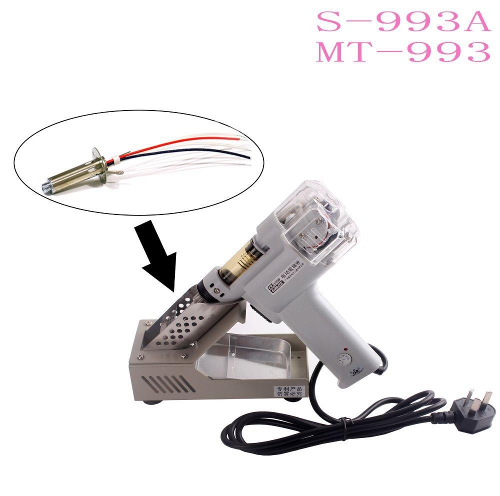 Electric Vacuum Desoldering Pump Gun 110V Heat Core S-993-A MT-993 S-993A(China (Mainland))