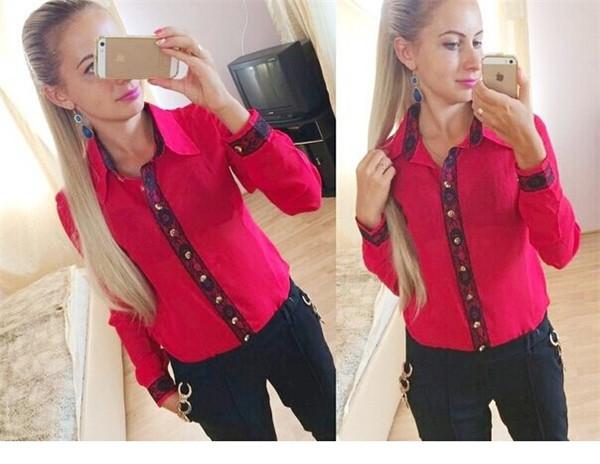 Красные Блузки С Доставкой