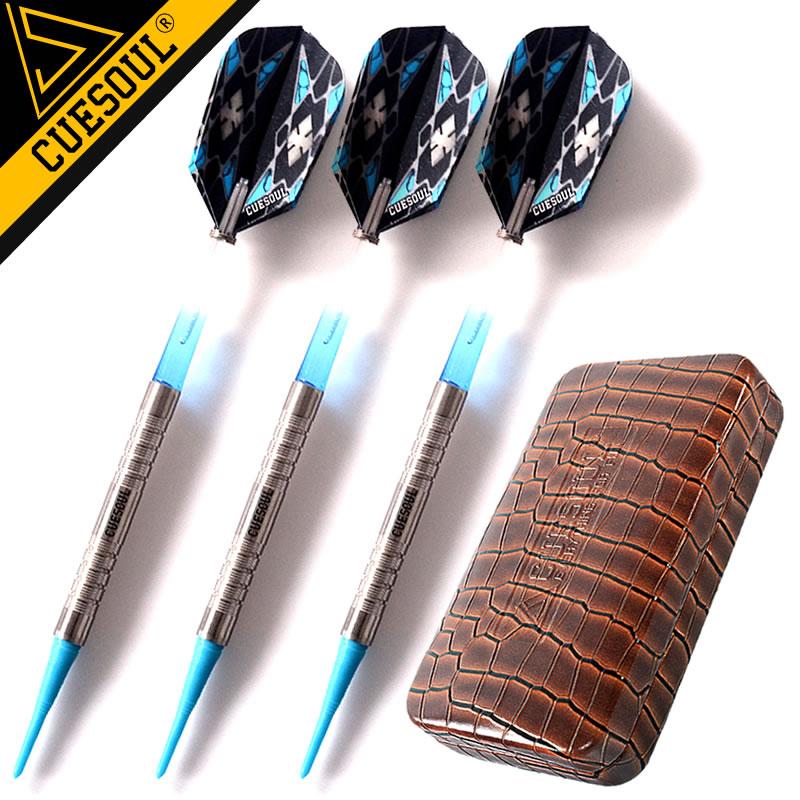 Фотография Professional brand 20 grams of soft dart soft tungsten steel needle dart darts with high quality aluminum shaft 3 PCS/set