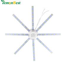 12 W 16 W 20 W 24 W LED Plafond Lampe Modifié Lumière Source Plaque de la lampe Poulpe 5730SMD Frais/Blanc Chaud pour Ronde Cuisine chambre(China (Mainland))