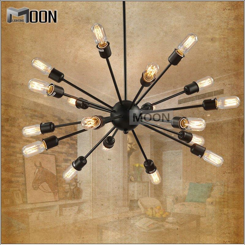 Здесь можно купить  Modern pendant lighting fixture American style suspension light Black hanging lamp suitable for Bedroom MD2851 pendant lustre  Свет и освещение