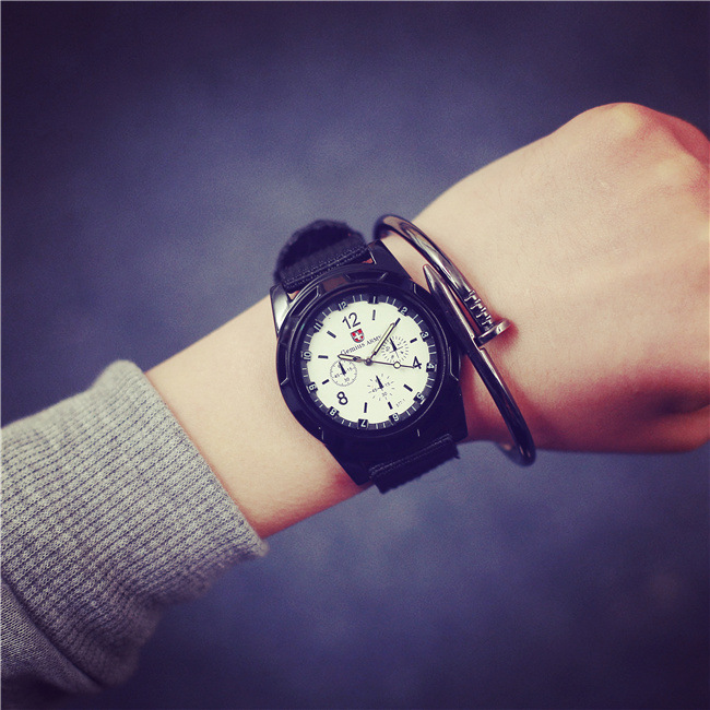 Special Forces Military Outdoor Sports Watches for Men Retro Canvas Strap Luminous Pointer Quartz Army Watches Waterproof <br><br>Aliexpress