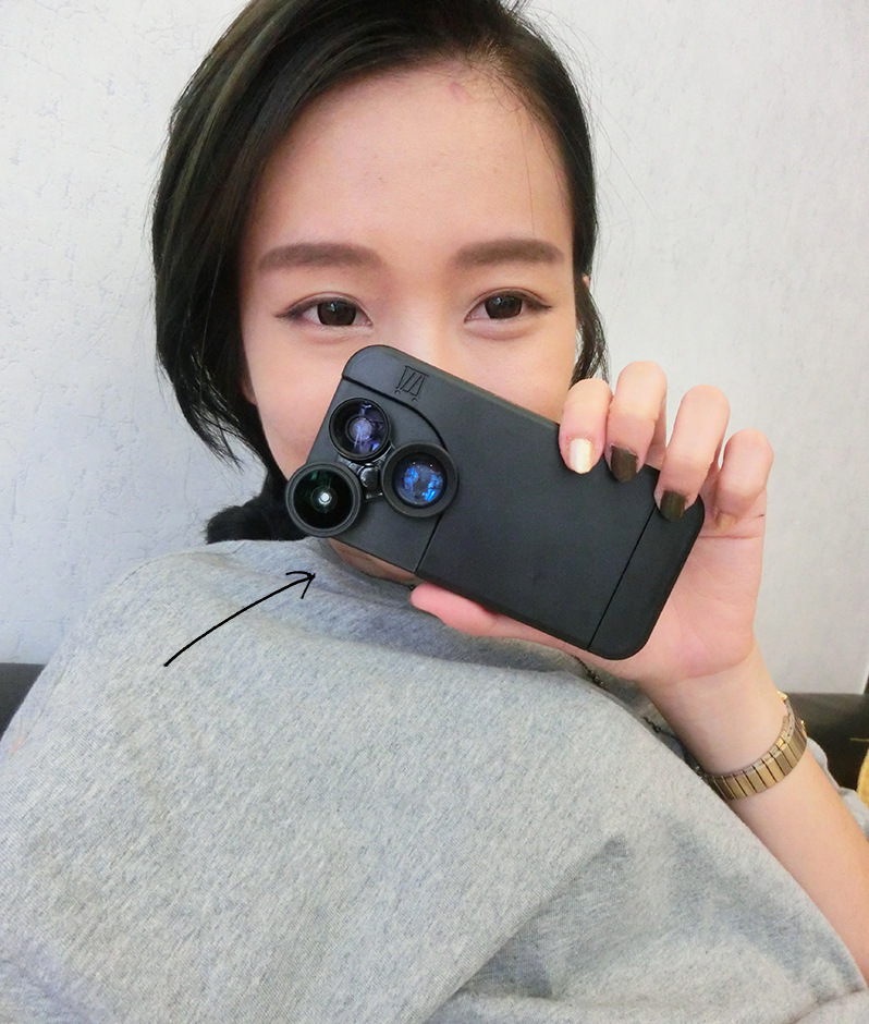 Premium Case for iphone and 4-in-1 Rotary type Photo Lens Fish Eye+Wide Angle+Macro Lens+ 2x Zoom Telescope for iPhone6/6 Plus