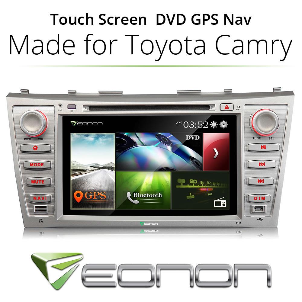 "8"" 2 DIN CAR DVD PLAYER GPS RADIO HD FOR TOYOTA CAMRY 2007 2008 2009 2010 2011(China (Mainland))"
