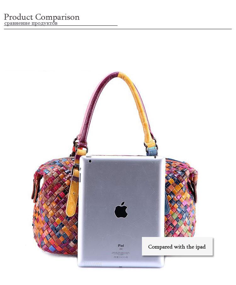 Guaranteed 100% Cowhide Leather Designer Handbags Women Famous Brands